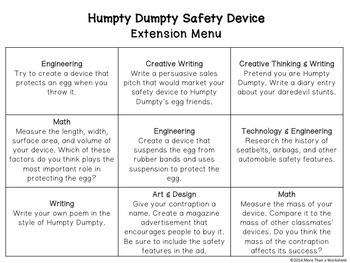 STEM Engineering Challenge Bundle {10 Nursery Rhyme Challenges Grades 3-5}