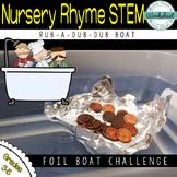 STEM Aluminum Foil Boat