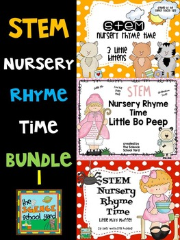 Nursery Rhyme STEM Time Bundle 1