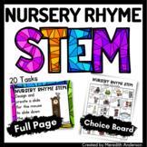 Nursery Rhyme STEM and STEAM Activities