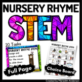 Nursery Rhyme STEM and STEAM Activities Distance Learning