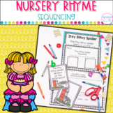 Nursery Rhyme Sequencing Activities
