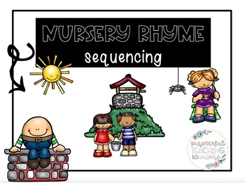 Nursery Rhyme Sequencing Pages