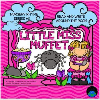 Nursery Rhyme Series #5 Little Miss Muffet