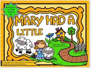 Nursery Rhyme Series #9 Mary Had a Little Lamb