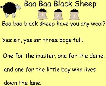 Nursery Rhyme Shuffle