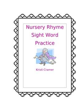 Nursery Rhyme Sight Word Packet