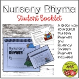 Nursery Rhyme Student Booklet