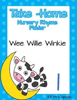 Nursery Rhyme Take-Home Folder