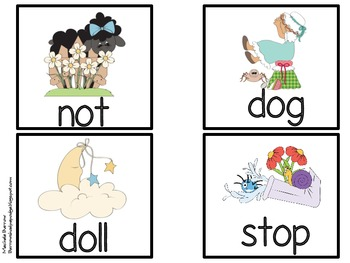 Nursery Rhyme Theme Literacy Centers