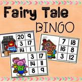 Fairy Tale Themed Number Bingo (1-20)