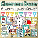 Nursery Rhyme Themed Classroom Decor Bundle