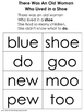 Nursery Rhyme There Was an Old Woman Who Lived in a Shoe A