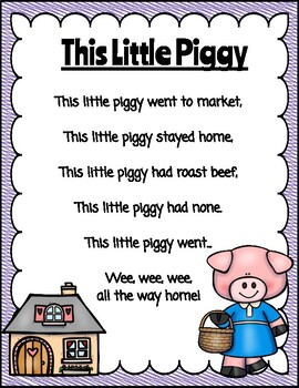Nursery Rhyme-This Little Piggy