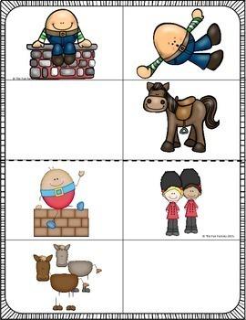 Nursery Rhyme Visual Discrimination {PK - Kindergarten}