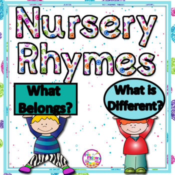 Nursery Rhyme Visual Discrimination {PK - Kindergarten}