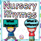 Visual Discrimination Activities With Nursery Rhymes PK and Kindergarten