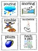 Nursery Rhyme Vocabulary Cards- Listening and Learning Strand