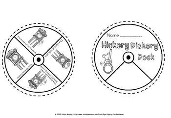 Nursery Rhyme Word wheels