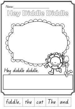 Nursery Rhyme Workbook Collection