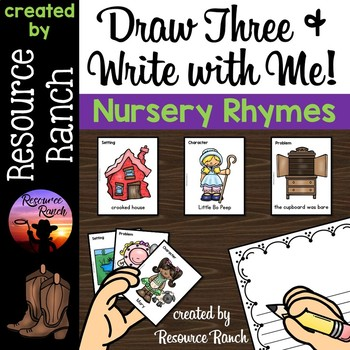 Nursery Rhyme Writing Center