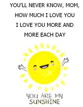Nursery Rhyme - You are my sunshine