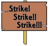 "Nursery Rhyme and Fairy Tale Characters Go on ""Strike! Strike!! Strike!!!"""