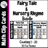Nursery Rhyme and Fairy Tale Counting Clip Cards 1 - 20