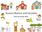 Nursery Rhyme and Fairy Tale PreK and Kinder Pack 361 PAGES