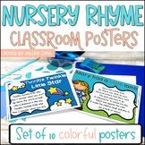Nursery Rhyme classroom Posters