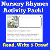 Nursery Rhymes   Preschool Kindergarten   Poetry Poems Activities