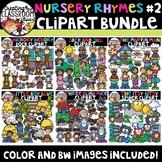 Nursery Rhymes 2 Clipart Bundle {Nursery Rhymes Clipart}