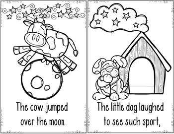 Nursery Rhymes #2 (Pocket Chart and Book Making Activity)
