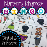Nursery Rhyme Bingo | Distance Learning