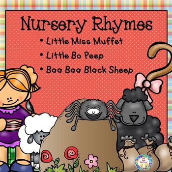 Nursery Rhyme Activities and Worksheets PK and K