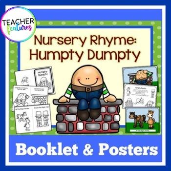 Humpty Dumpty Nursery Rhymes Booklets
