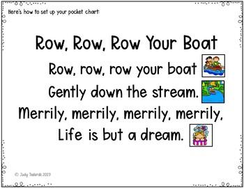 Nursery Rhymes #4 (Pocket Chart Activities)