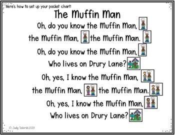 Nursery Rhymes #5 (Pocket Chart Activity)