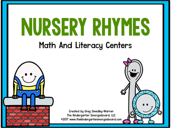 Nursery Rhymes!  A Back to School Math and Literacy Center