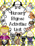 Nursery Rhymes Activities Unit (Free Mini Book in Preview)