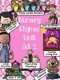 Nursery Rhymes Activities Unit SET 2 with FREE ALL of  Row Your Boat in Preview
