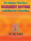 Nursery Rhymes- Activities for 6 Favorites