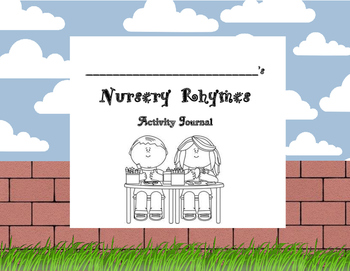 Nursery Rhymes Activity Journal