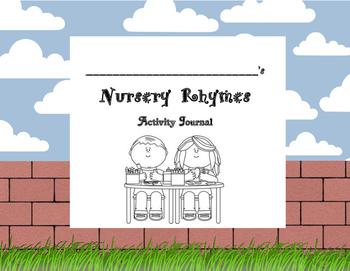 Nursery Rhymes Activity Journal