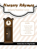 Nursery Rhymes {An Infant/Toddler Activity Pack}