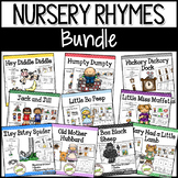 Nursery Rhymes BUNDLE: Books & Sequencing Cards