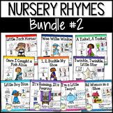 Nursery Rhymes BUNDLE Set #2: Books & Sequencing Cards