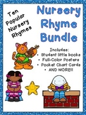 Nursery Rhymes BUNDLE with Books, Posters, & MORE- Preschool or Kindergarten