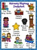 Nursery Rhymes BUNDLE with Books, Posters, & MORE- Prescho