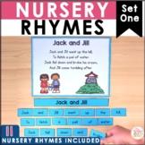 Nursery Rhymes Poetry Center - 11 poems